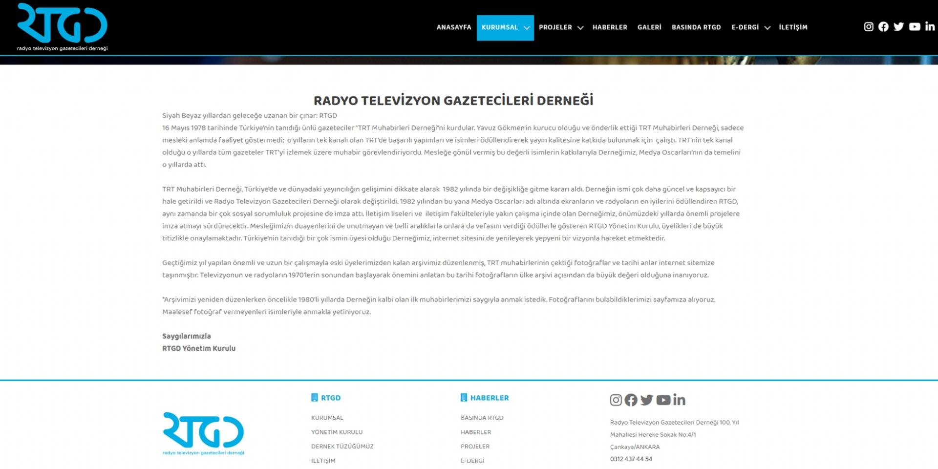Radyo Televizyon Gazetecileri Derneği