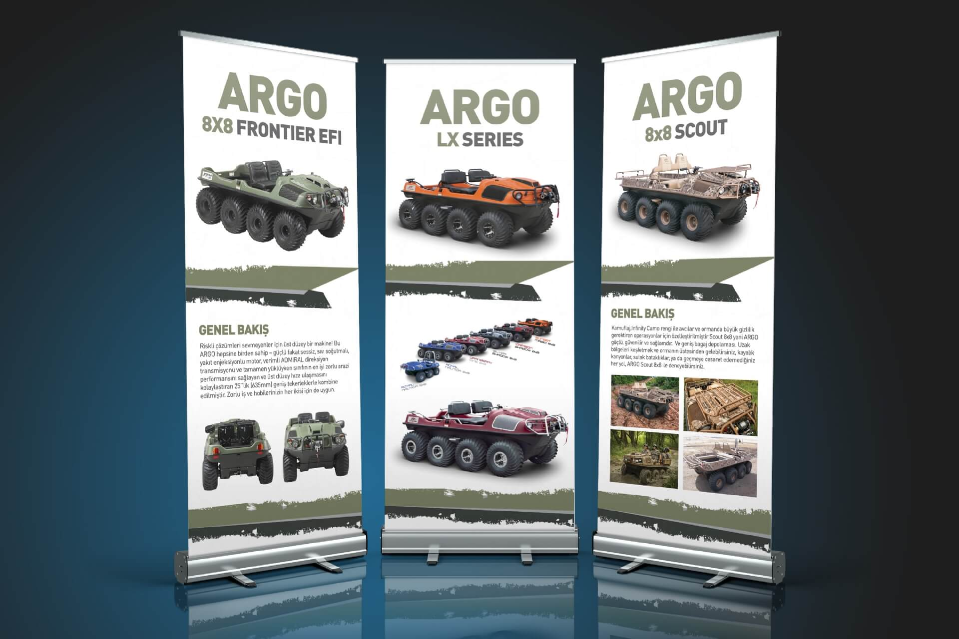 ARGO ROLL-UP TASARIMI