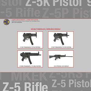 MKE-Z-Serisi Tüfek & Tabanca