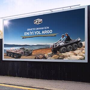 Argo-Bilboard Tasarımı