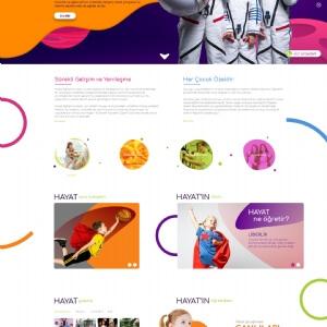 HAYAT KOLEJİ-Web Tasarım-Yazılım