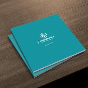 KOMAŞ-Bornova Koleji Katalog Tasarımı