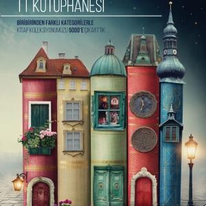 Türk Telekom-Kütüphane Afiş Tasarımı