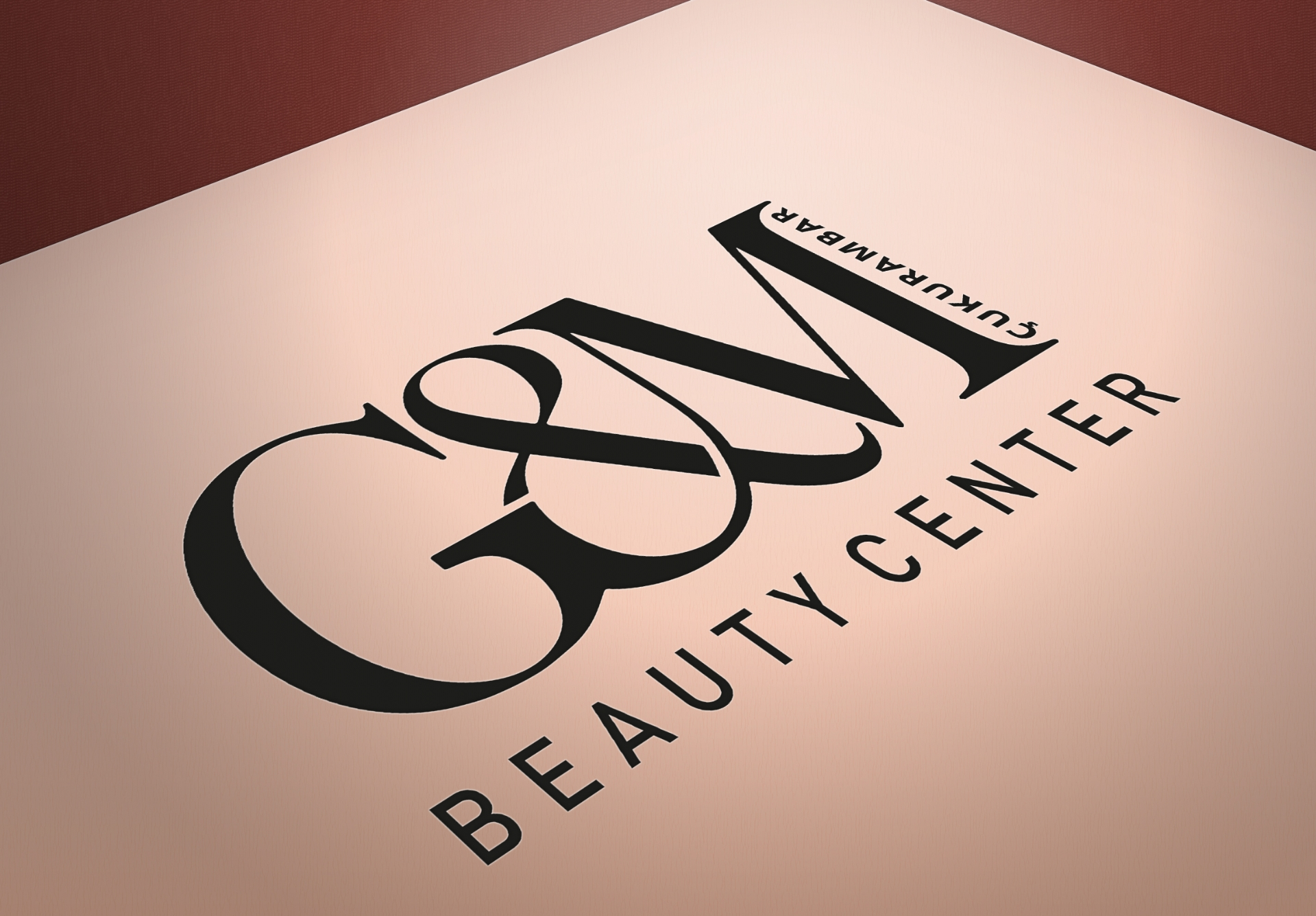 GM BEAUTY CENTER LOGO, CONCEPT